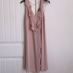 nude Topshop Summer / Party Dress